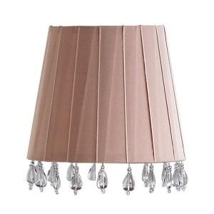 Laura Ashley Aida 6.5 in. Chalk Pink Barrel Clip Shade SBE506