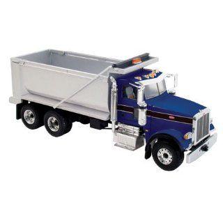 Peterbilt 367 Dump Truck 1/50 First Gear Blue/Silver 50 3163 Toys & Games