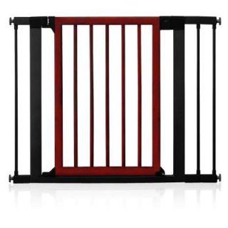 Munchkin 29.5 in. Wood and Steel Designer Gate 31061