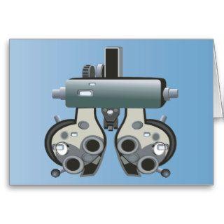 Doctor 7 Optometry Optometrist Eye Exam Greeting Cards