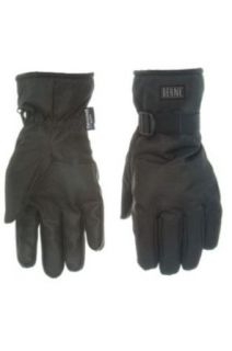 Berne Apparel GLV33 Men's Nylon Oxford Utility Glove Waterproof Black 3X Large at  Men�s Clothing store: Cold Weather Gloves