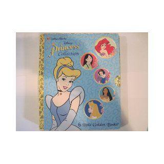 Disney Princess Collection (6 Little Golden Books) Box Set MULAN, POCAHONTAS, CINDERELLA, SNOW WHITE, SLEEPING BEAUTY, THE LITTLE MERMAID (Golden Books) 9780307158901 Books