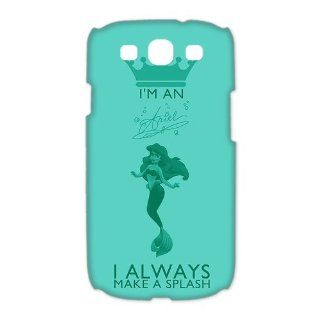Custom The Little Mermaid 3D Cover Case for Samsung Galaxy S3 III i9300 LSM 3524 Cell Phones & Accessories