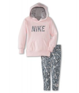 Nike Kids Printed Legging Set Girls Sets (Gray)