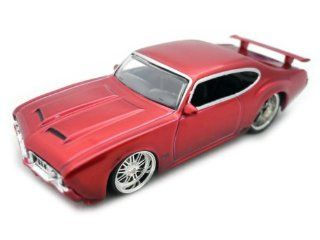 New 1970 Oldsmobile 442 Die Cast Model Car 164 Scale  ColorC. Red Toys & Games