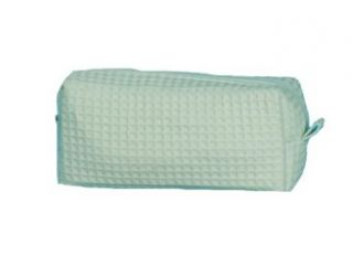 Classic Cotton Waffle Cosmetic & Travel Bag  Beauty