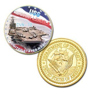 USS Abraham Lincoln (CVN 72) GP printed Challenge Coin