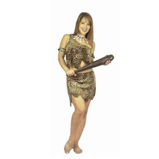 Women SM (5 7)  Exotic Cheetah Cavewoman Costume: Adult Exotic Costumes: Clothing