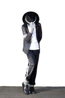 Kids Michael Jackson Billie Jean Child Costume LARGE: Health & Personal Care