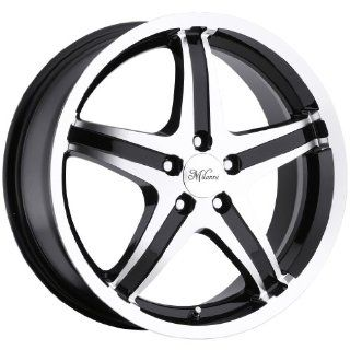 Milanni Kool Whip 5 17 Machined Black Wheel / Rim 5x110 with a 40mm Offset and a 74.1 Hub Bore. Partnumber 446 7710GBMF40: Automotive