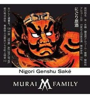 Murai Family Sake Nigori Genshu 300ML: Wine