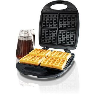 General Electric 4 Square Belgian Waffle Maker: Electric Waffle Irons: Kitchen & Dining