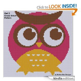 Owl 2 Cross Stitch Pattern eBook: Mother Bee Designs: Kindle Store