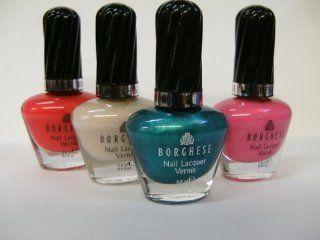 Borghese Nail Lacquer/ B458 Menta  Nail Polish  Beauty