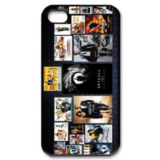 Custom James Bond Cover Case for iPhone 4 4s LS4 2224 Cell Phones & Accessories