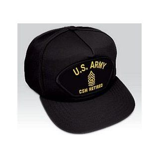 US Army CSM Retired Ball Cap