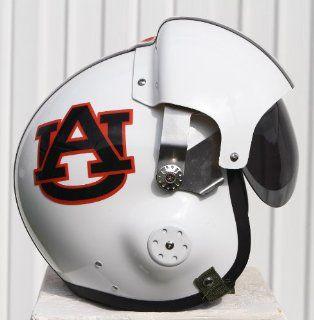 Auburn Tigers Fighter Pilot Helmet   NCAA Football   USAF Air Force   AU War Eagle Motorcycle  Aircraft