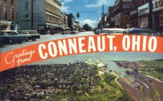 Conneaut, Ohio Postcard   Blank Postcards