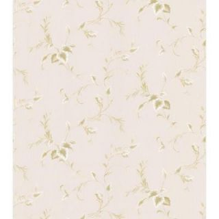 Brewster 56 sq. ft. Textured Leaf Wallpaper 149 88402