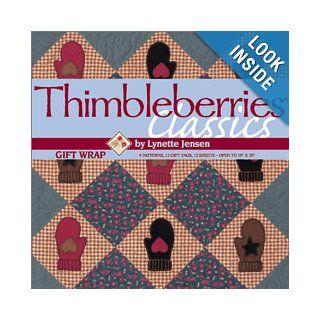 "Thimbleberries Classics Gift Wrap (Winning quilt patterns as gift wrap ""books"") Lynette Jensen 9781571201270 Books"