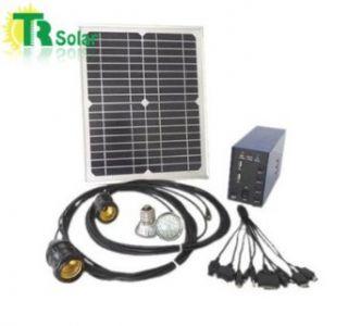 5w Solar Led Bulb Light Charging Lighting Small Power System Saving Energy Lamps
