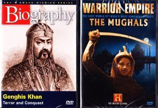 Genghis Khan Biography , The Mughals Warrior Empire : Great Armys The History Channel 2 Pack Collection: Movies & TV