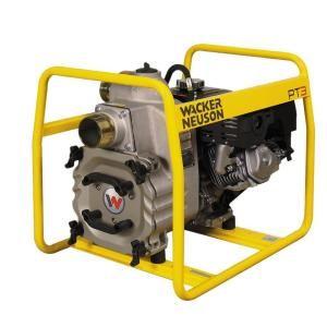 Wacker 8 HP 3 in. Trash Pump with Honda Engine 0009098