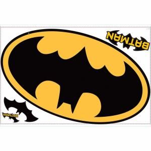 RoomMates Batman Peel and Stick Giant Logo RMK1461SLM