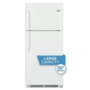 Frigidaire 20.53 cu. ft. Top Freezer Refrigerator in White FFHT2117LW