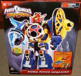 Power Rangers Ninja Storm Power Megazord Action Figure: Toys & Games