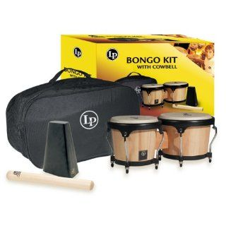 LCA501 Caliente Bongo Kit (Includes Cowbell: Musical Instruments