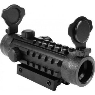 Tactical 1X25 Dual Illuminated Reflex Sight w/ Integral Mount System Fits AR15 M4 SIG 556 552 522 Hi Point 9mm .40 .45 Carbine FN SCAR ACR SU16 SU22 RUGER SR22 SR556 GunSite Scout Rifle : Rifle Scopes : Sports & Outdoors