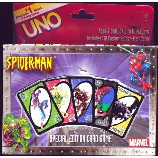 Spider Man Uno Game Toys & Games
