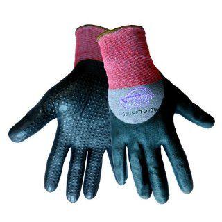 Global Glove 530NFTD Tsunami Grip New Foam Technology Nitrile Glove, Work, Small (Case of 72) Industrial & Scientific