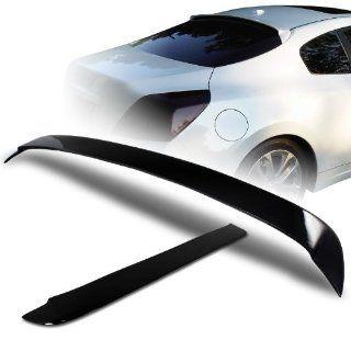 2008   2010 Nissan Altima Coupe JDM Black Fiber Glass Rear Window Visor / Roof Spoiler Automotive