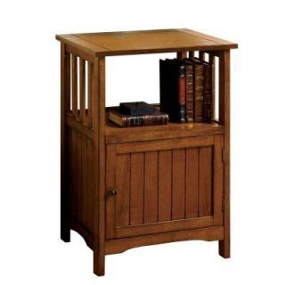 Home Decorators Collection Bridgewater Oak 1 Drawer Telephone Stand CM AC280