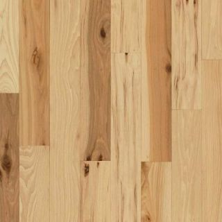 Bruce Hickory Rustic Natural 3/4 in. Thick x 2 1/4 in. Wide Random Length Solid Hardwood Flooring (20 sq. ft./case) AHS461
