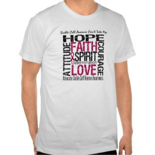 Sickle Cell Anemia Can't Take My Hope Tee Shirt