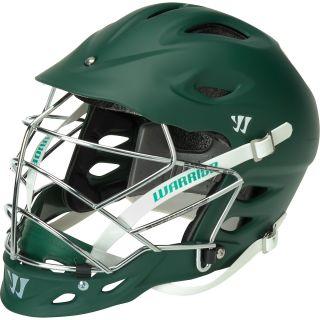 WARRIOR TII Matte Lacrosse Helmet, Forest Green