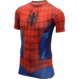 UNDER ARMOUR Mens Alter Ego Spider Man Suit Short Sleeve Compression T Shirt