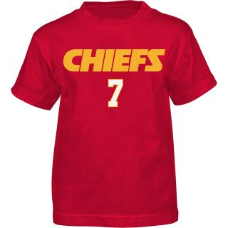 NFL Team Apparel Youth Kansas City Chiefs Matt Cassell Primary Gear Name and