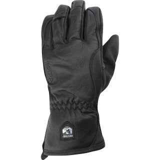HESTRA Alpine Pro Leather Wool and Merino Gloves   Size: 7, Pink Pow/black