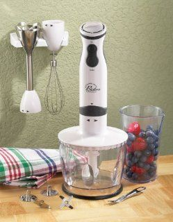 Wolfgang Puck 550 W Immersion Blender/Chopper   Red Kitchen & Dining