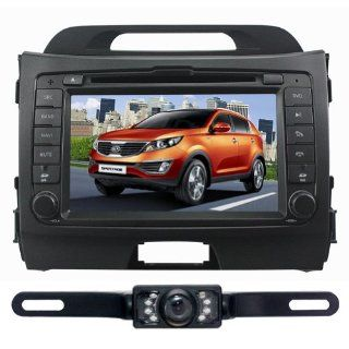 Tyso For KIA Sportage (Year 2010 2011 2012)Windows CE6.0 Operating System Bluetooth Ipod function Fm&Am Radio Stereo (Free Map) Rear Camera Infrared LED Digital Touch Screen DVD Player CD8974R  In Dash Vehicle Gps Units  GPS & Navigation