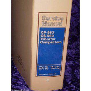 Caterpillar CP 563/CS 563 OEM Service Manual KENR1585 Caterpillar CP 563/CS 563 Books