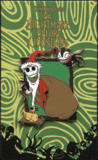 Disney Pin   Tim Burton's The Nightmare Before Christmas   Mystery Pin Collection   Jack Skellington as Santa Claus   Sandy Claws   Pin 63714: Everything Else