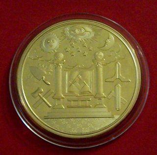 Medieval Secret Masonic Mason Freemasonry Signs Symbols Coin Token Award: Everything Else