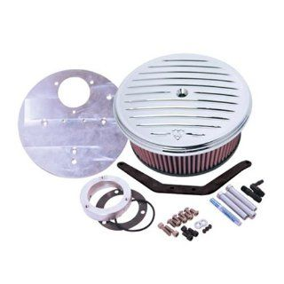 Arlen Ness Big Sucker Air Cleaner Kits for 1999 2007 Yamaha Road Star 1600/1700 with Cover (Except Warrior)   Color  scalloped Automotive