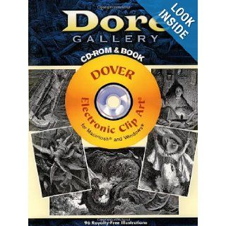 Dor� Gallery CD ROM and Book (Dover Electronic Clip Art) Gustave Dore 9780486997698 Books