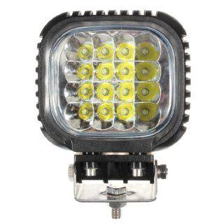 48W 16LED CREE Spot Work Lamp Light Pencil Beam OffRoad Boat Truck SUV Jeep 4x4 Automotive